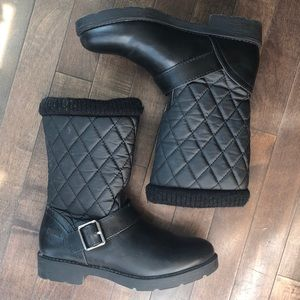Cougar • Black Pull-On Waterproof Winter Boots